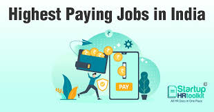salaries regarding different jobs
