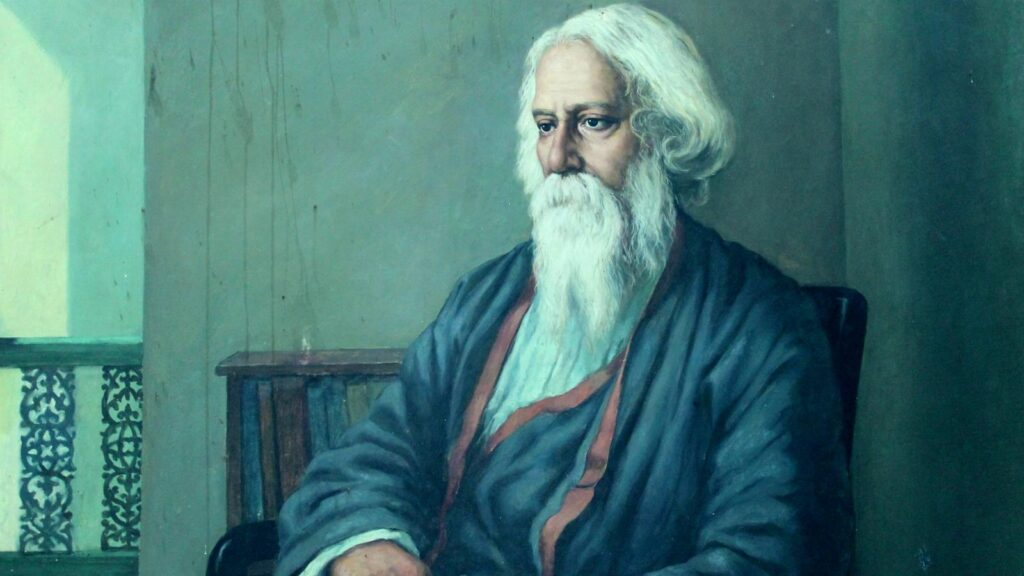 The great author of the book gitanjali