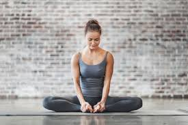 Easy but  effective asana for flexibility  the butterfly pose